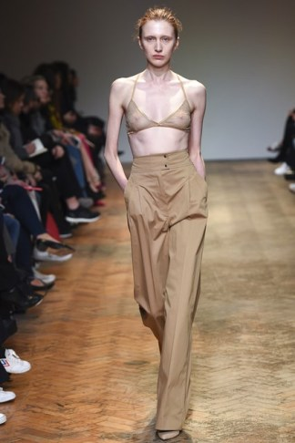 Barbara Casasola Free the Nipple at LFW AW'16