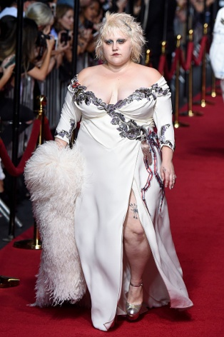 NEW YORK, NY - SEPTEMBER 17: Beth Ditto walks the runway at the Marc Jacobs Spring Summer 2016 fashion show during New York Fashion Week on September 17, 2015 in New York City. (Photo by Victor VIRGILE/Gamma-Rapho via Getty Images)