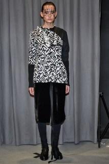 Phoebe English Androgynous Model at LFW AW'16