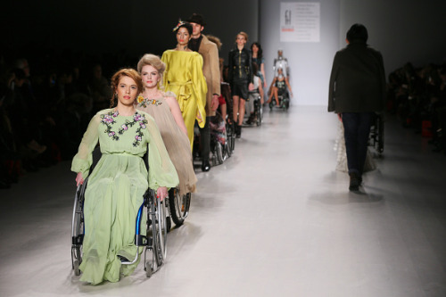 Models with Disabilities at the FLT Moda Show NYFW